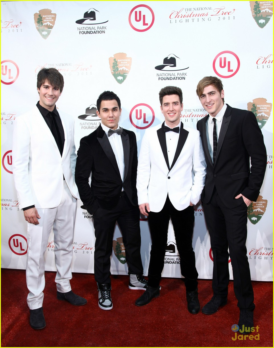 big time rush national tree lighting 01