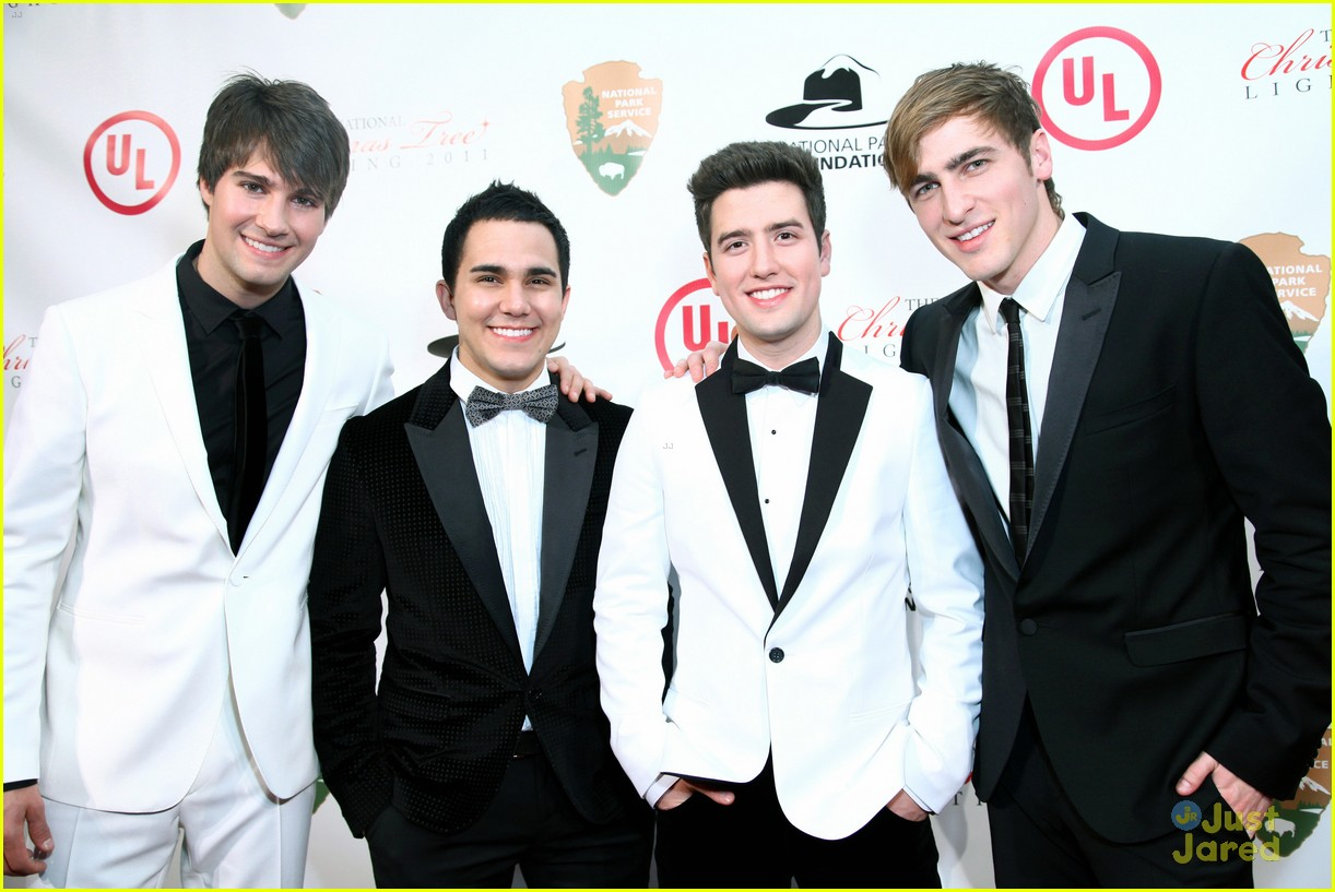 big time rush national tree lighting 10