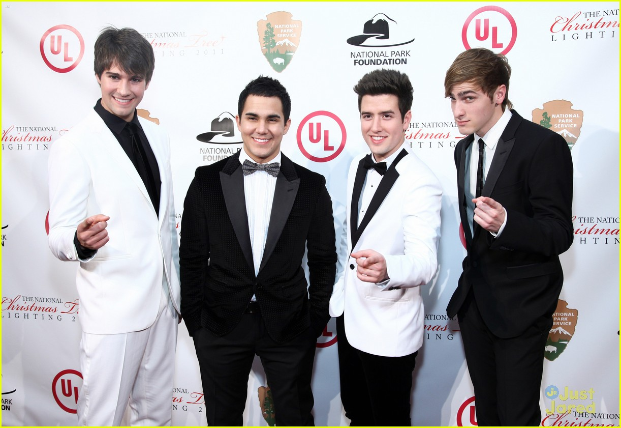 big time rush national tree lighting 14