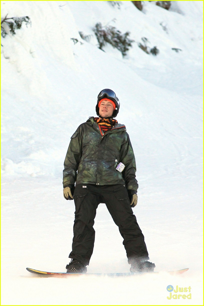 cory monteith snowboarding 13