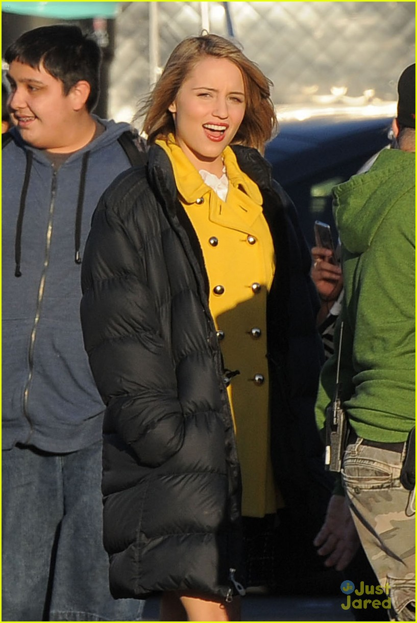 dianna agron grease glee 02