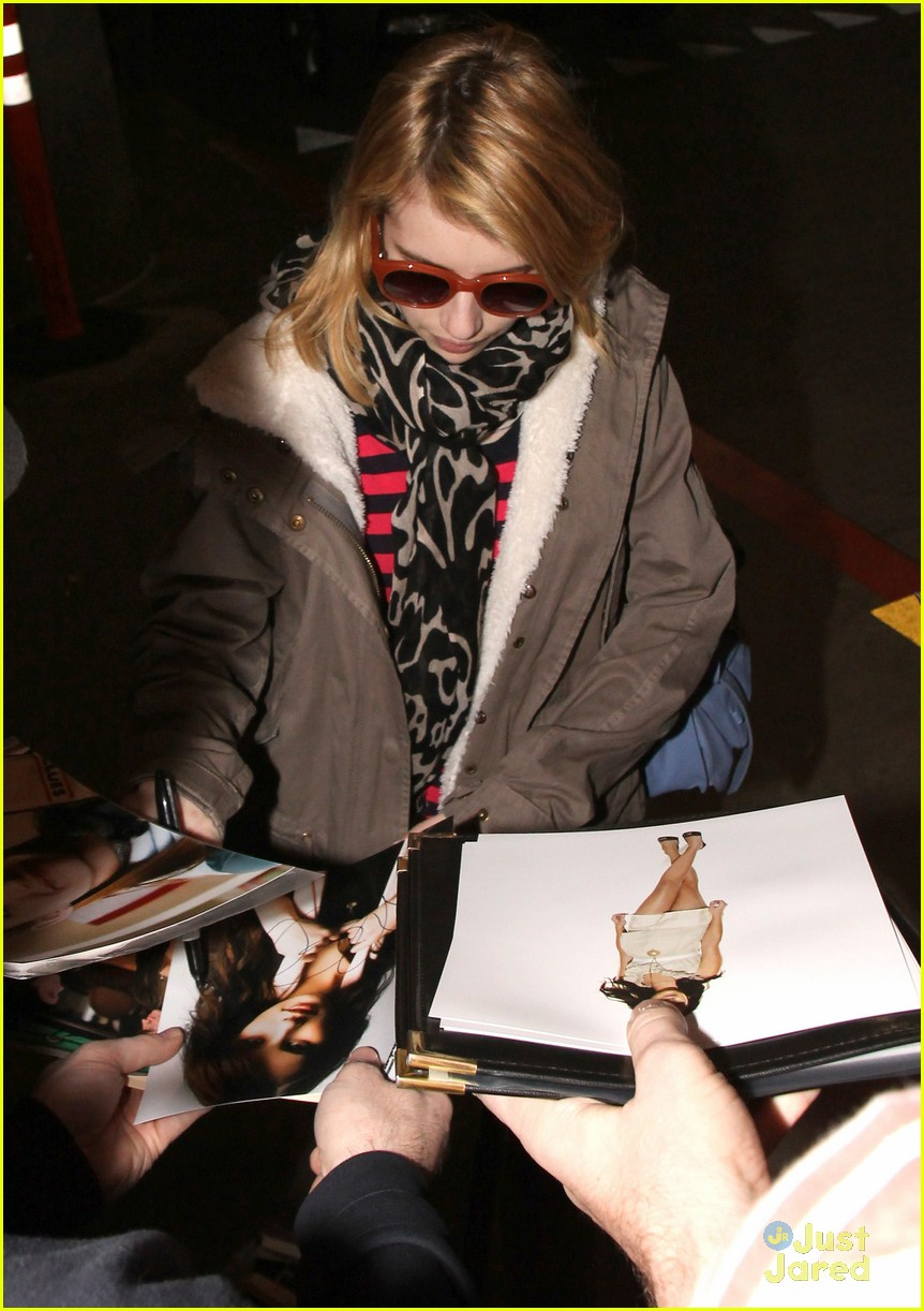 emma roberts sundance arrival 02