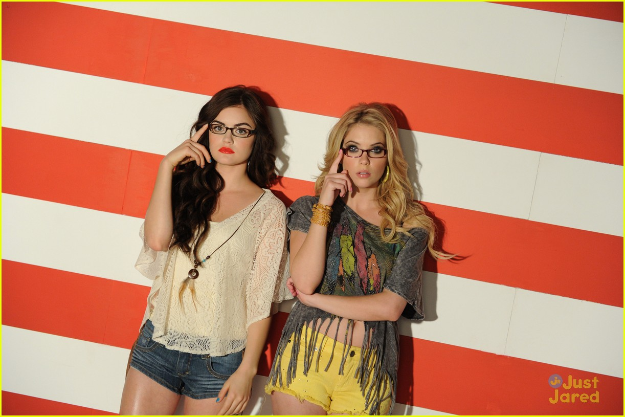 lucy hale ashley benson bongo 20