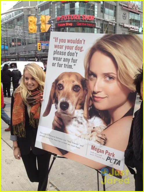 megan park peta ad 01