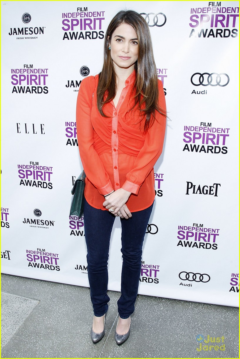 nikki reed spirit awards brunch 05