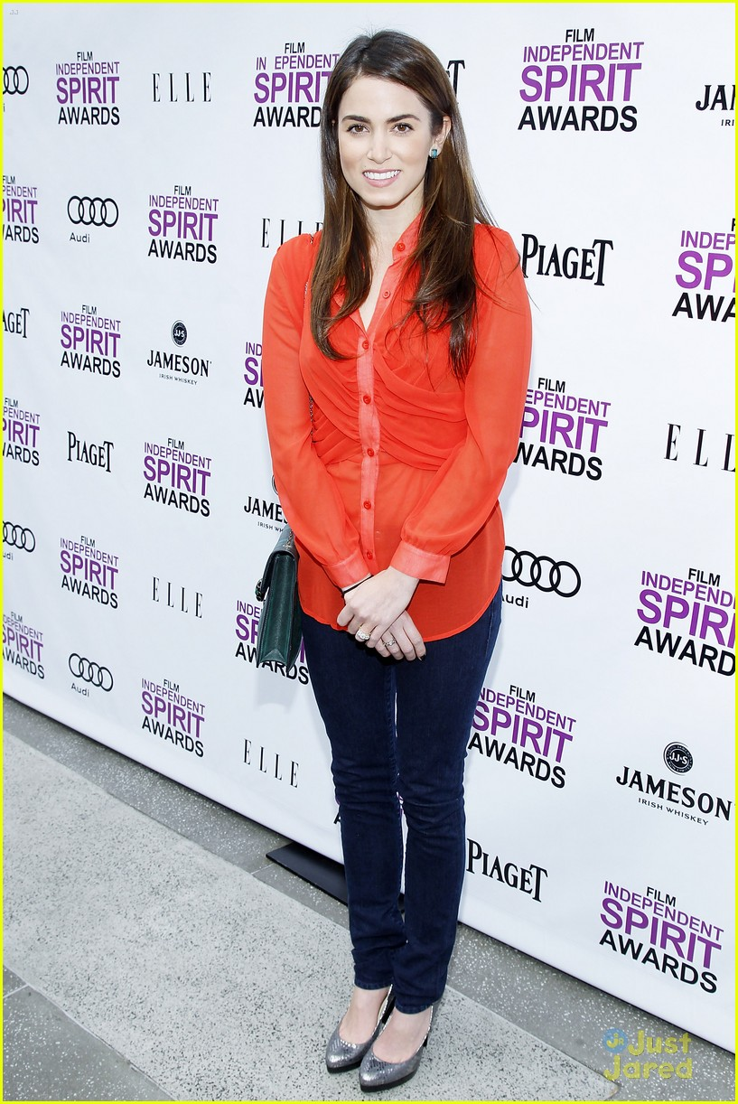 nikki reed spirit awards brunch 09