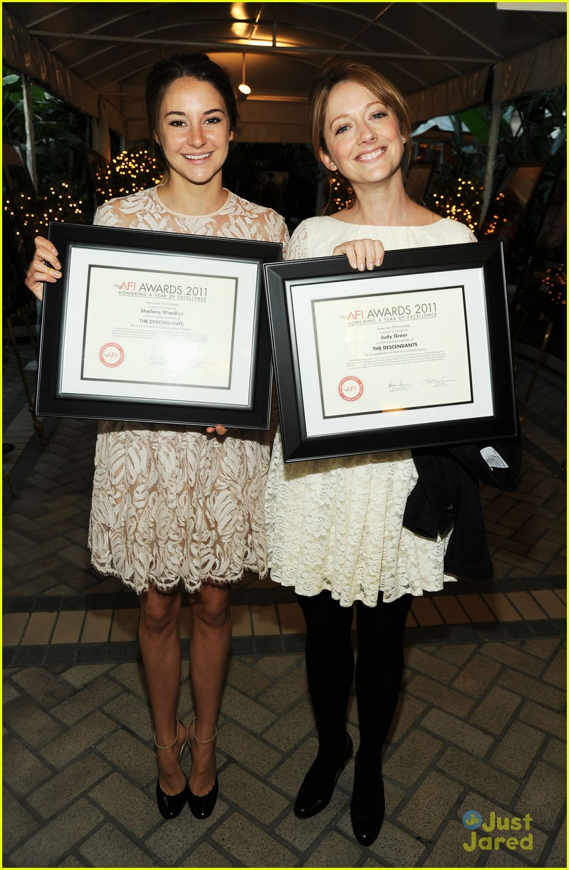 shailene woodley afi awards 09