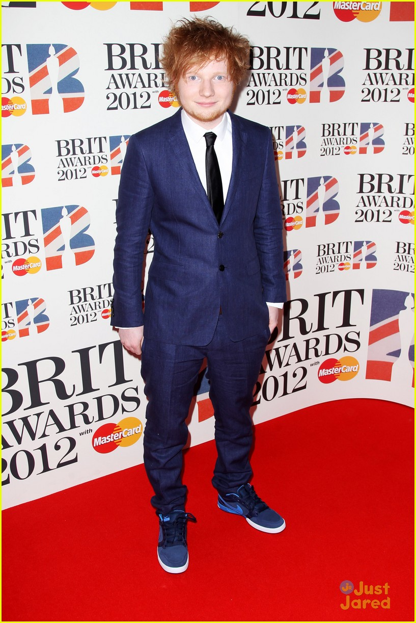 ed sheeran brits 2012 05