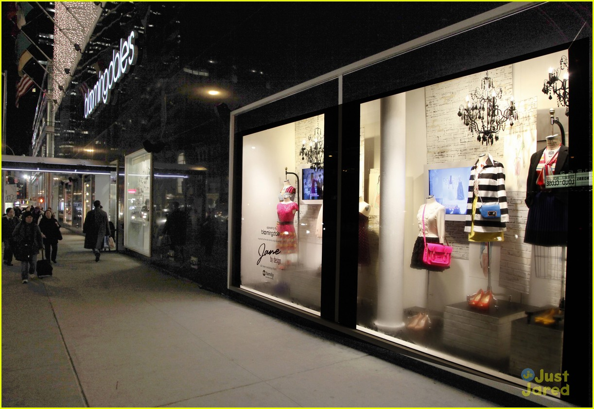 Erica Dasher: Jane By Design Bloomingdale's Pop-Up Shop