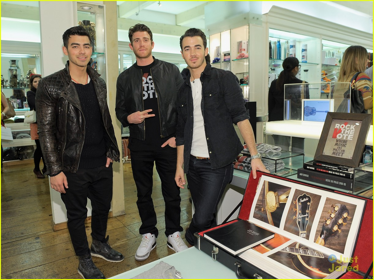 joe kevin jonas rock vote 08
