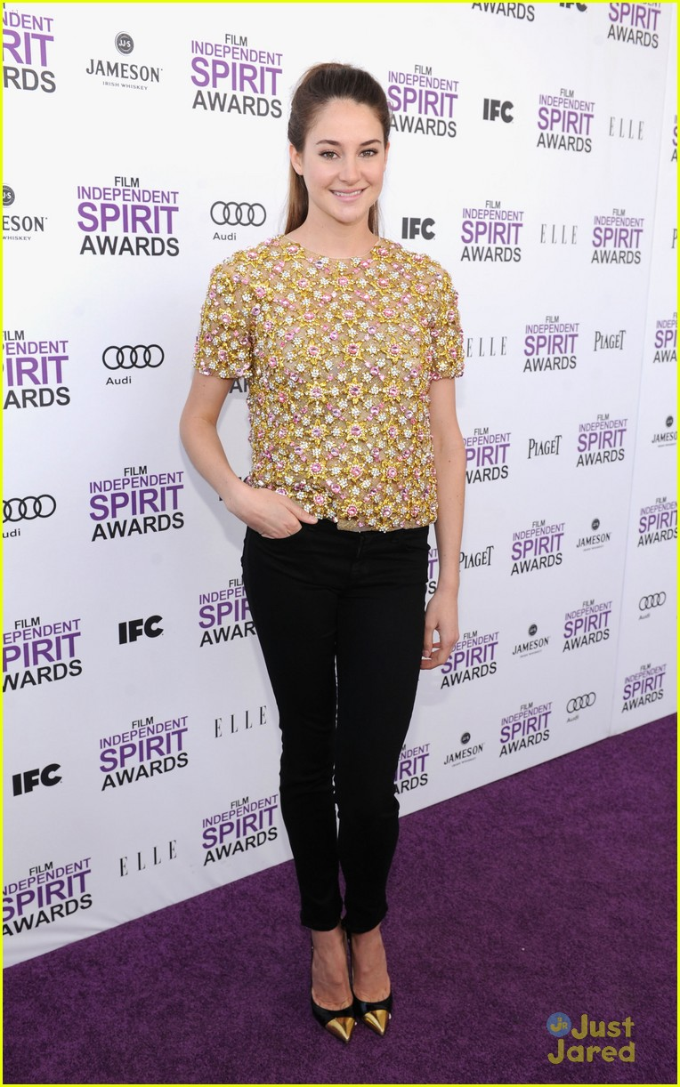 shailene woodley spirit awards 14