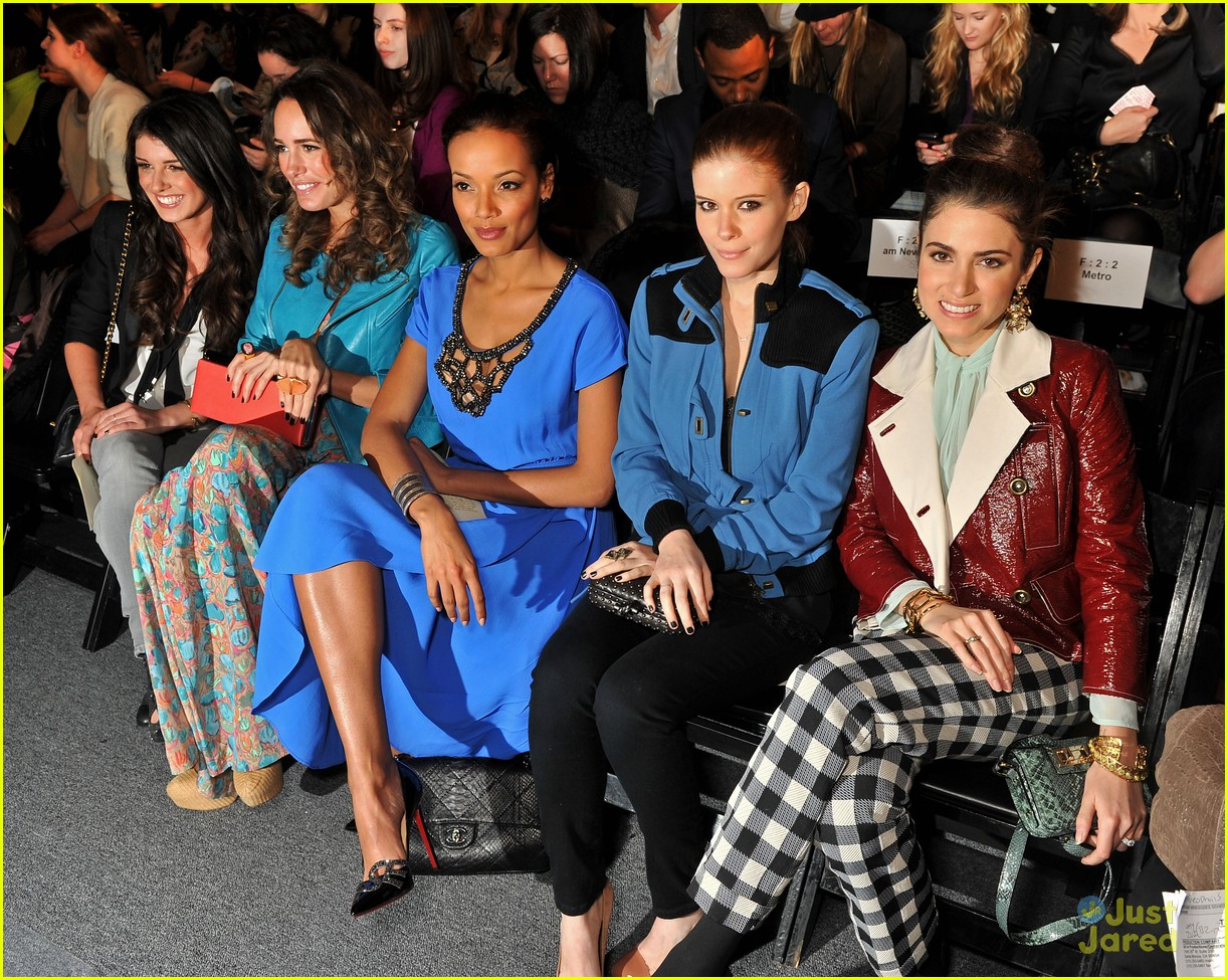 shenae grimes fashion week 14