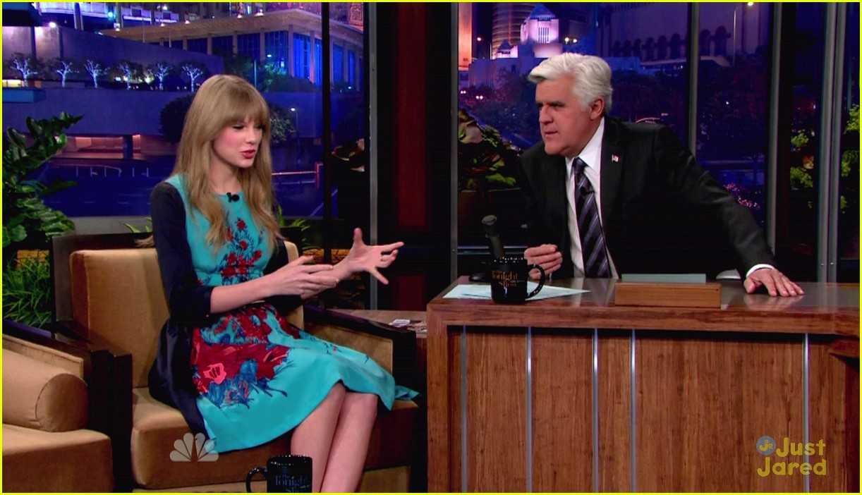taylor swift jay leno 02