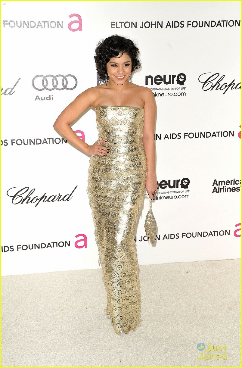 vanessa hudgens ejaf oscar party 09