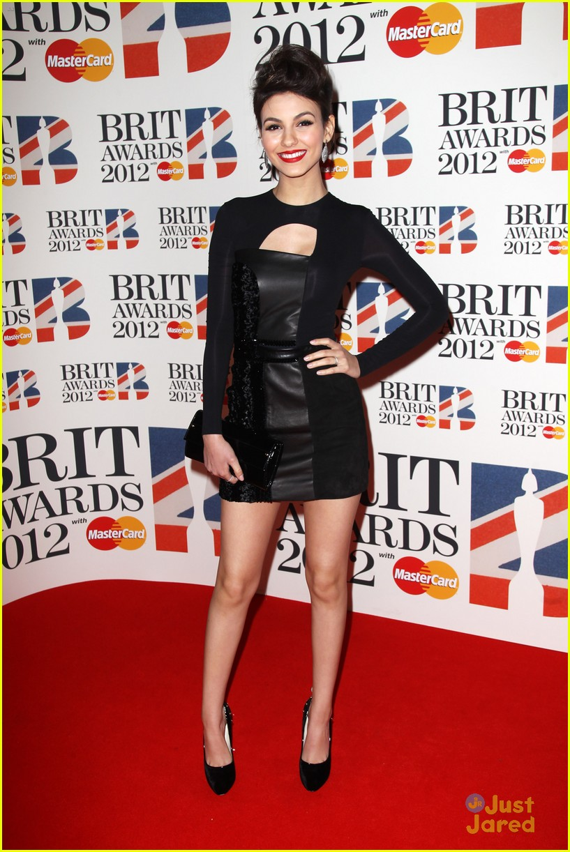 victoria justice brit awards 07