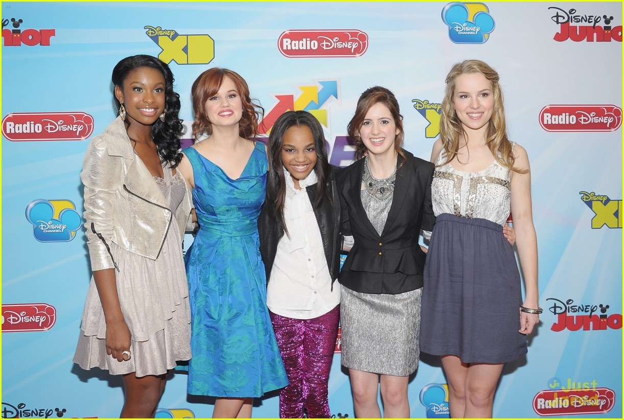 bridgit mendler disney upfronts 02