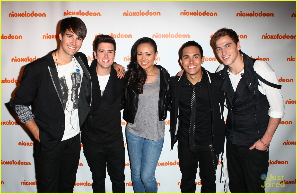 big time rush keke palmer upfronts 05