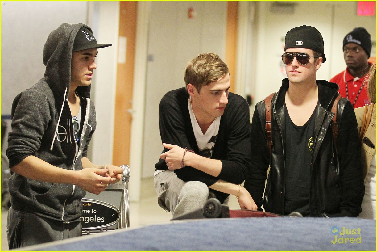 big time rush lax return 08