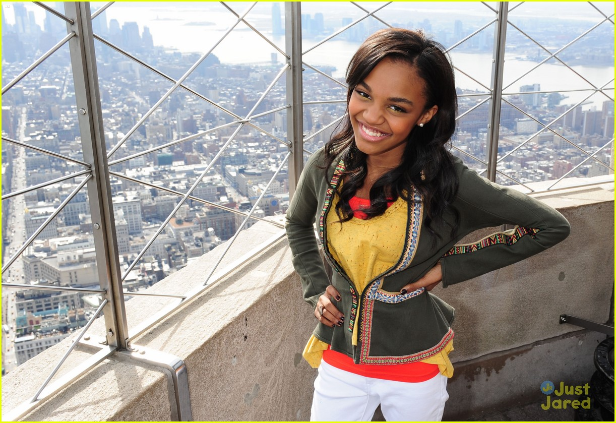china mcclain empire state disney upfronts 09