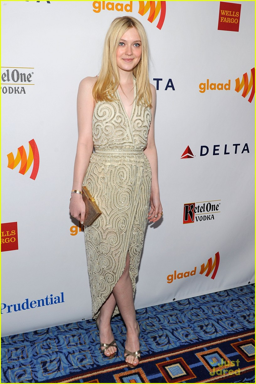 dakota fanning glaad awards 08