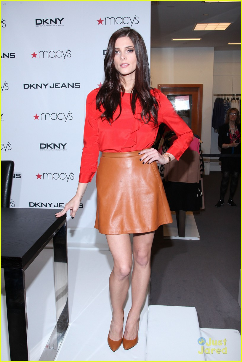ashley greene dkny macys 10