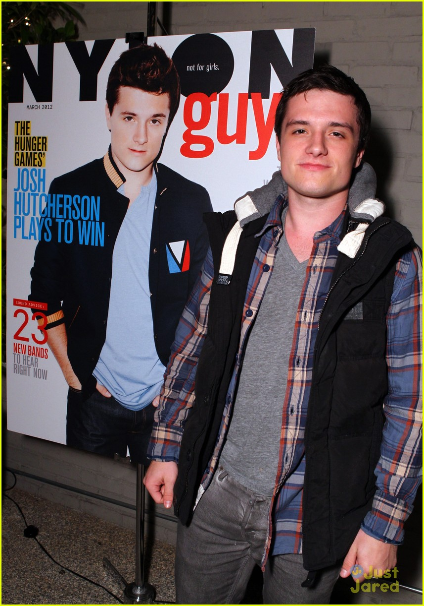 josh hutcherson nylon party 03