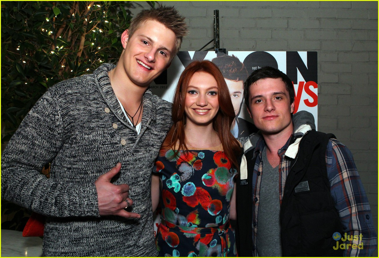 josh hutcherson nylon party 10