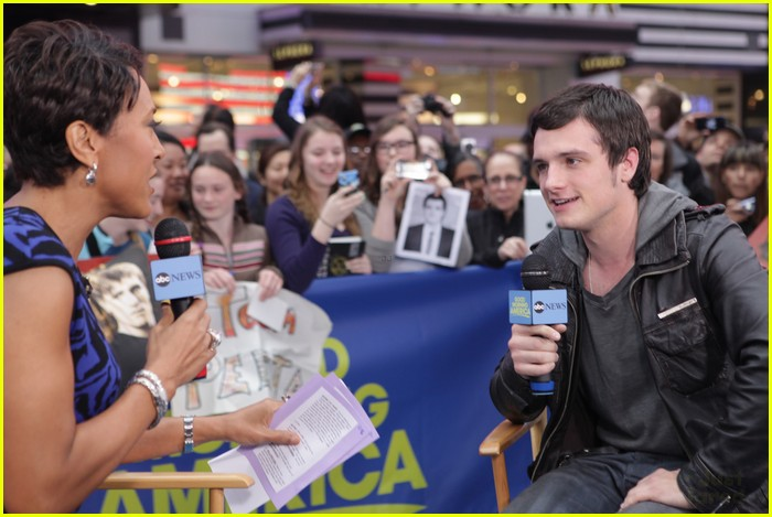 josh hutcherson gma 05