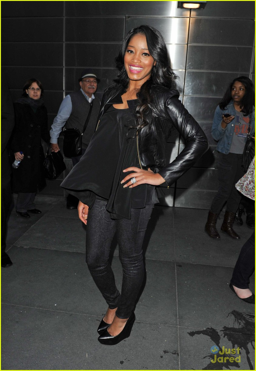 keke palmer leather nyc 05