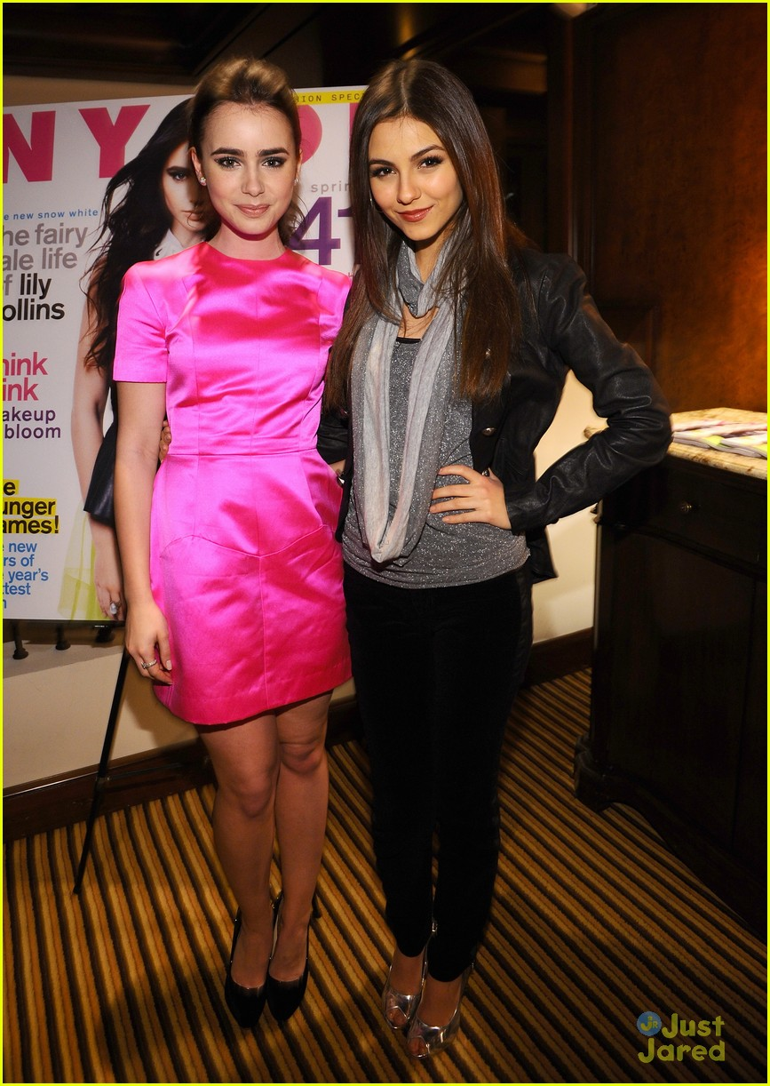 lily collins nylon party 05