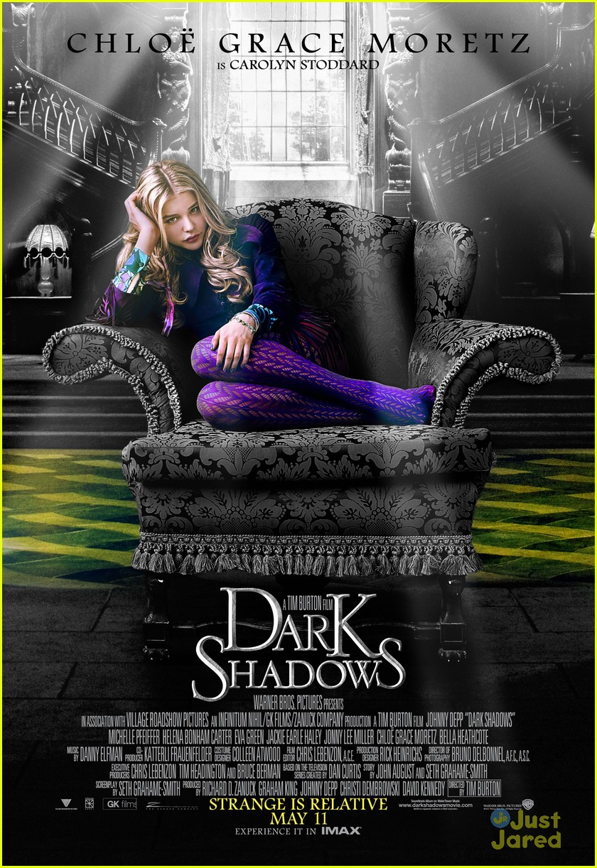 Chloe Moretz: New 'Dark Shadows' Poster! | Photo 466287 ...