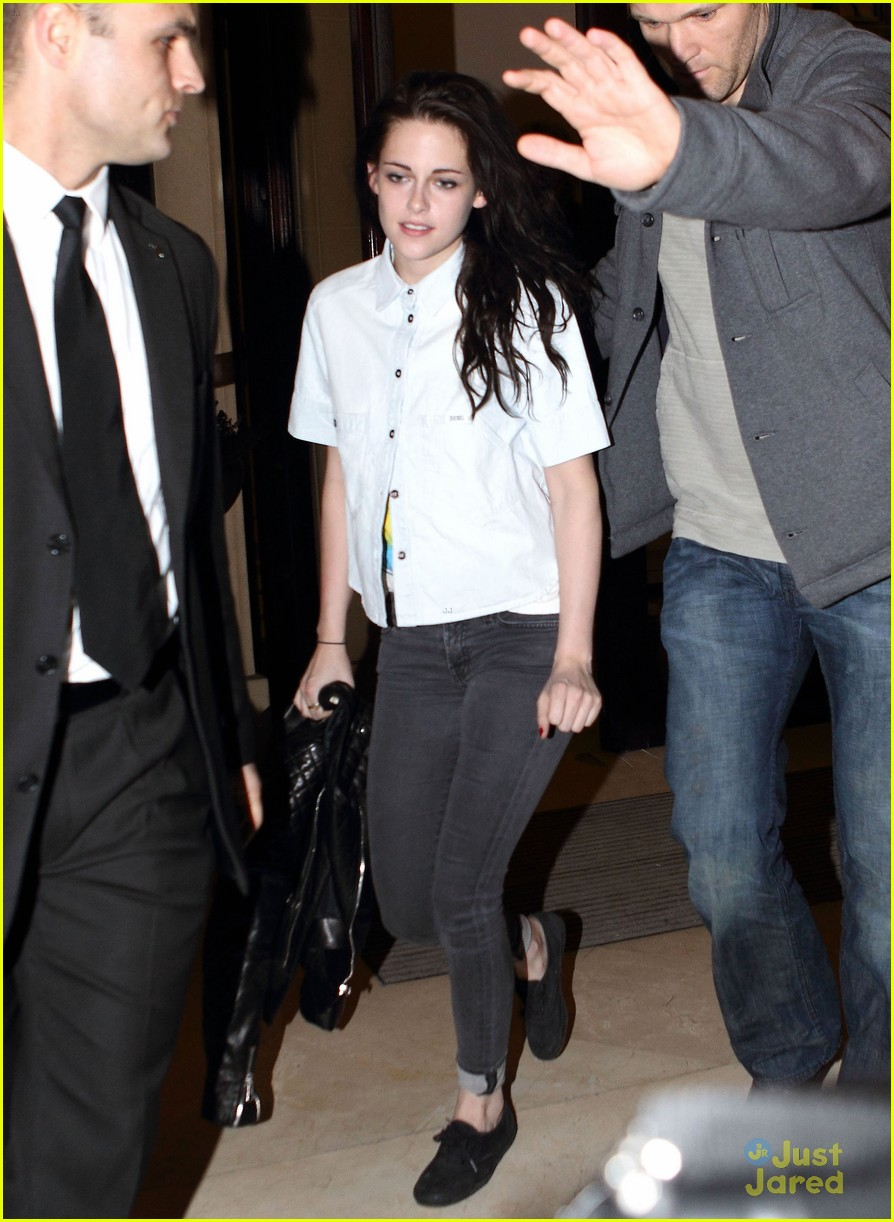 robert pattinson kristen stewart paris date 05