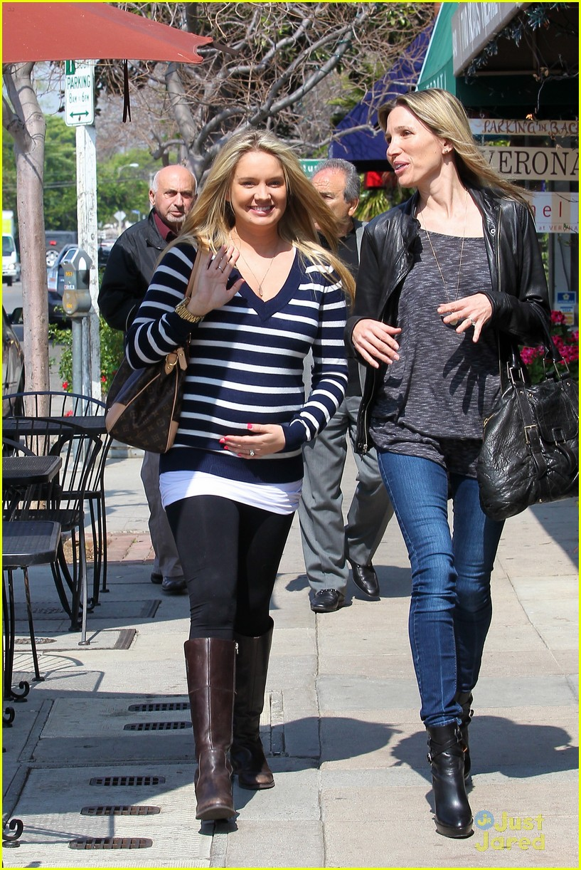 tiffany thornton baby bump 10
