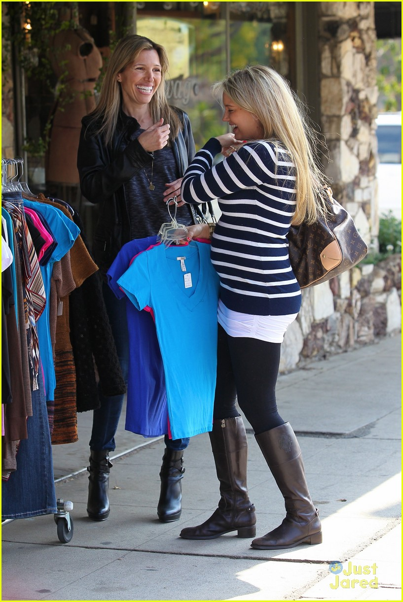 tiffany thornton baby bump 11
