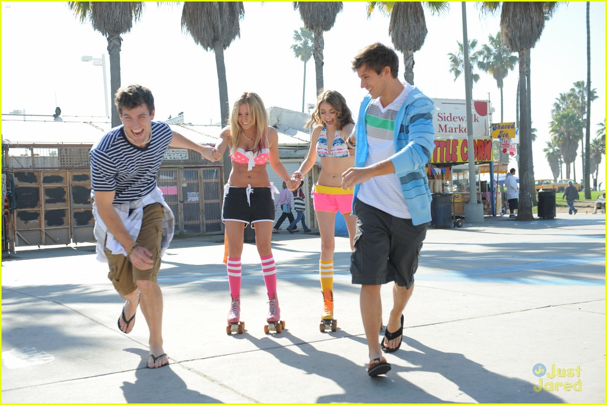Ashley Tisdale And Matt Lanter