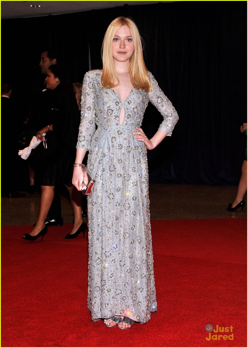 dakota fanning white house dinner 07