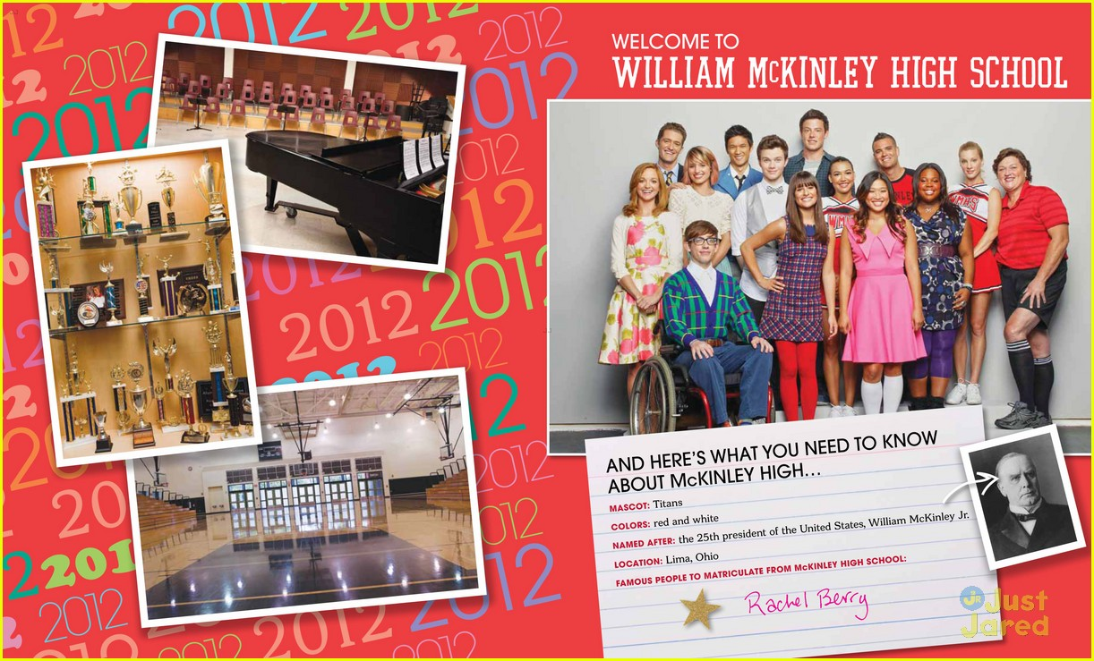 glee mckinley yearbook exclusive 03