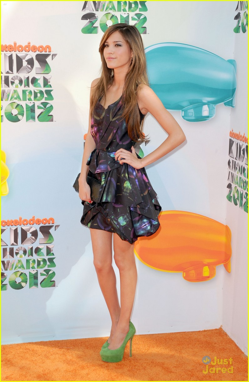 kelsey chow kids choice awards 09