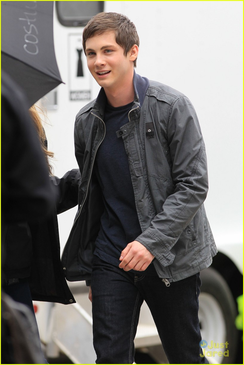 logan lerman faces monsters set 10