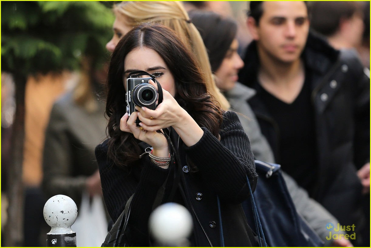 lily collins paris photographer 05