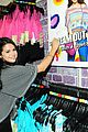 Selena-kmart selena gomez dream out loud shopping 05