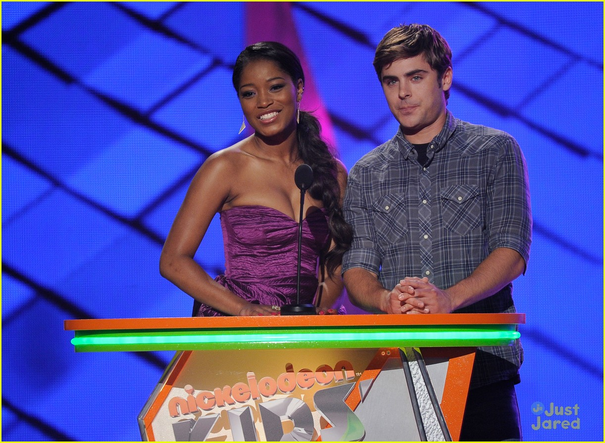 zac efron kids choice awards 10