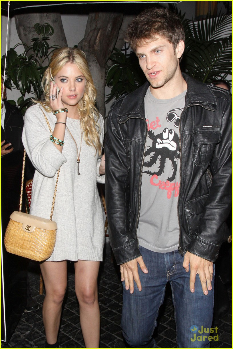 ashley benson dating who Ashley benson is known for her role, hanna marin although not a real relationship, ashley has been rumored nonstop to be dating her romantic tandem in.