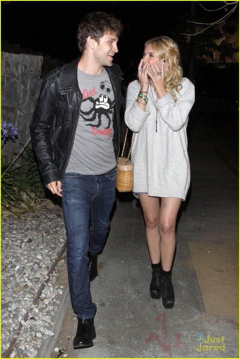 Keegan Allen And Ashley Benson Kissing Ashley Benson & Ke...