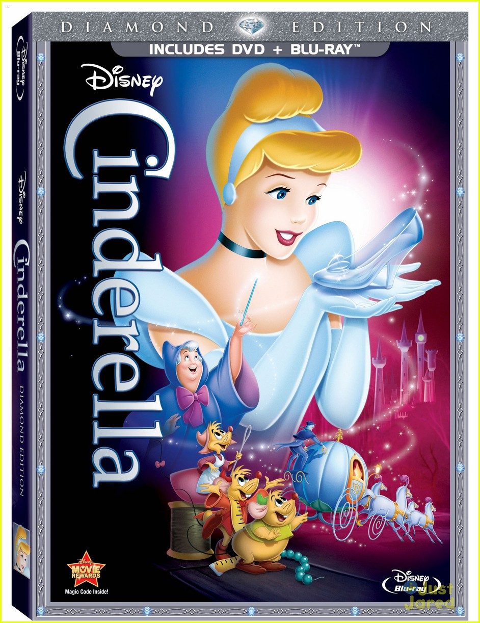 cinderella dvd october 10
