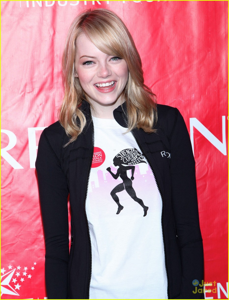 emma stone eif revlon walk 10