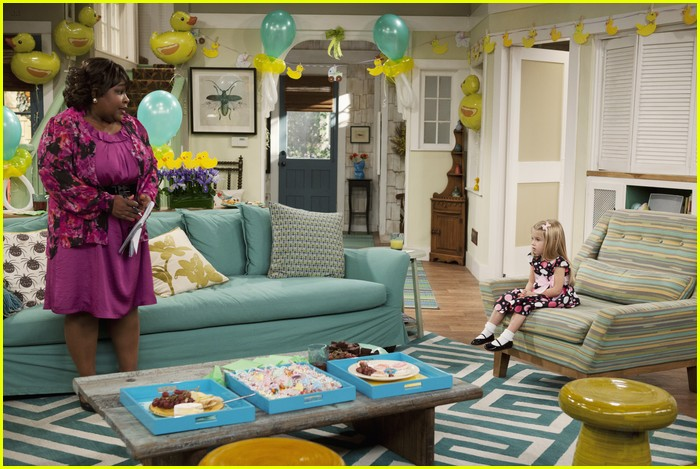 good luck charlie dress shower 22