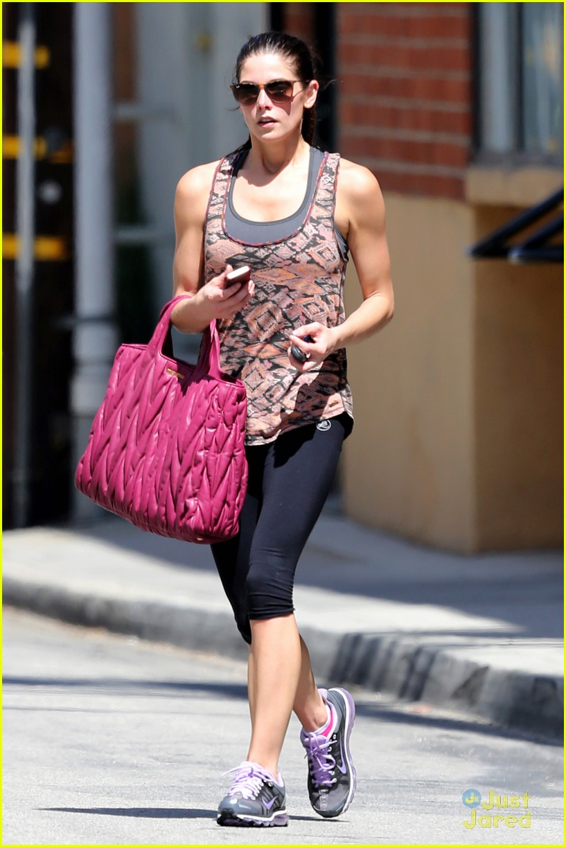 ashley greene wednesday workout 11