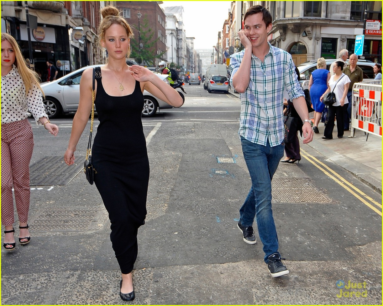 jennifer lawrence nicholas hoult london 05