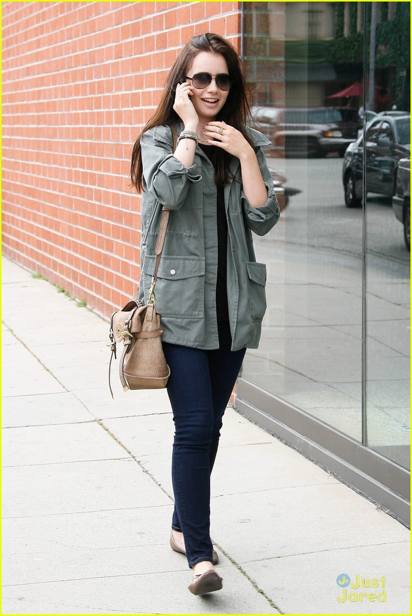 lily collins doc appt 06
